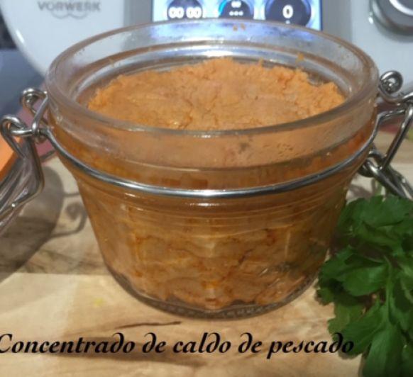 CONCENTRADO DE CALDO DE PESCADO CON Thermomix®