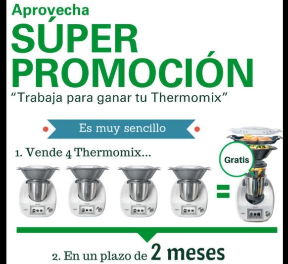 Un Thermomix® sin pagar?