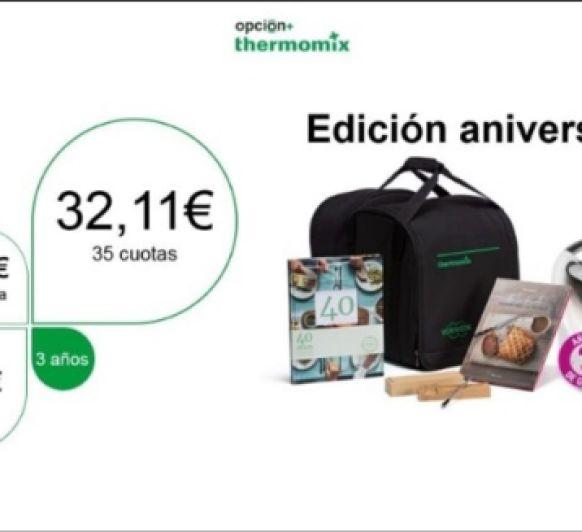40 ANIVERSARIO Thermomix® ESPAÑA