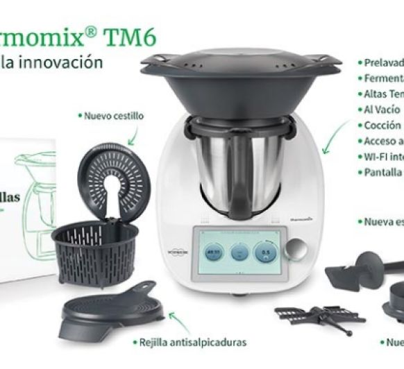 Descubre las novedades del Thermomix® TM6