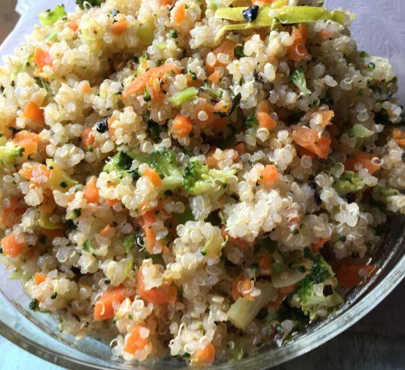 Quinoa amb verdures al vapor amb Thermomix® a Lleida
