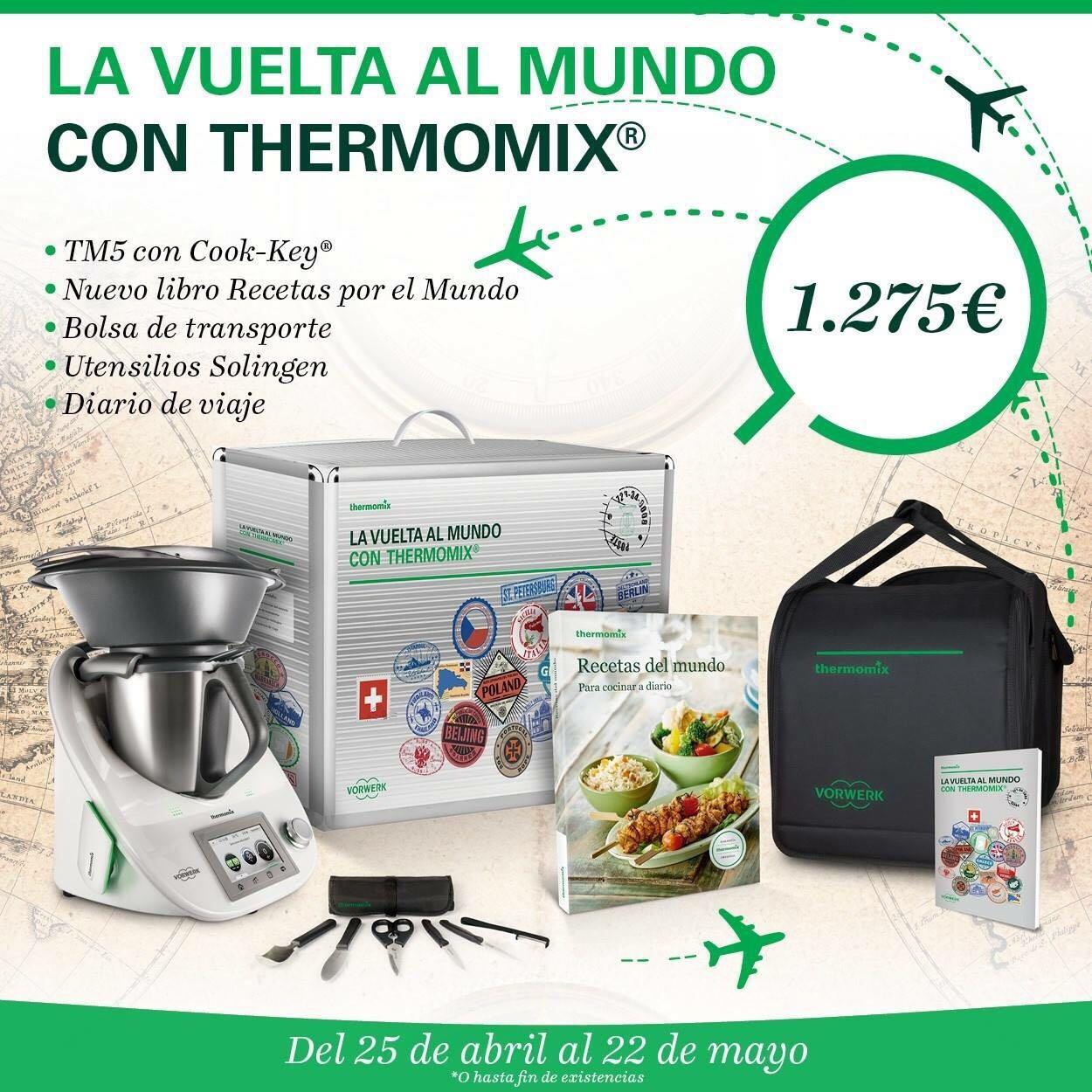 LA VOLTA AL MÓN AMB Thermomix®
