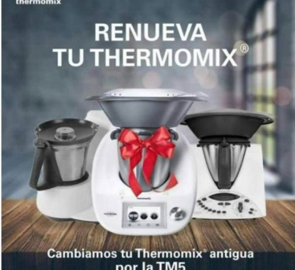 ¡¡RENUEVA TU Thermomix® !! del 25 de Abril al 16 de mayo 2018