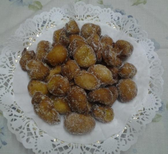 BUNYOLS DE POMA (Buñuelos de manzana)