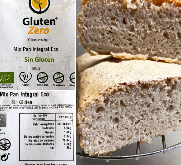 Pa sense gluten amb preparat ECO fet amb Thermomix® a Bellpuig - Lleida