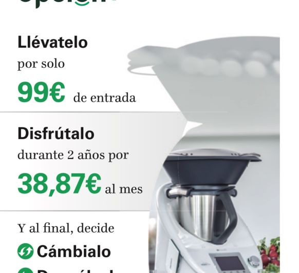 OPCIÓN + (PLUS) LA NOVA PROPOSTA DE Thermomix® - (FIRA-PUIGCERDÀ)