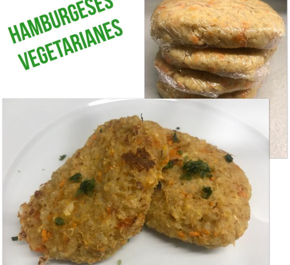 Hamburguesa vegetariana amb Thermomix® , BELLPUIG -LLEIDA