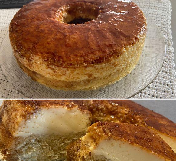 Recepta de pa de pessic i flam (BizcoFlan), fet amb Thermomix® - Bellpuig - Lleida